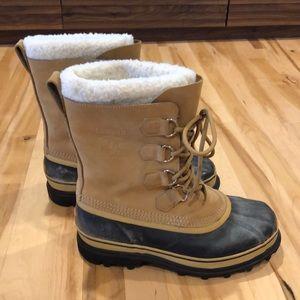GUC Men's Sz 10 Caribou Sorel Boots